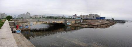 La mer de Baltik dans Sankt Peterburg photos libres de droits