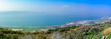 La mer de la Galilée photographie stock libre de droits