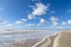 La Mer du Nord de Néerlandais image libre de droits