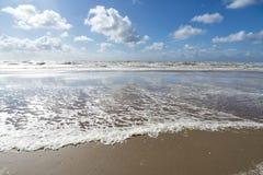 La Mer du Nord de Néerlandais images libres de droits