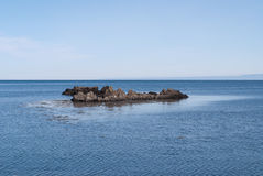 La mer en Islande Image libre de droits