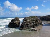La mer et la plage Photos stock