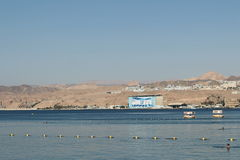 La mer et le désert Image libre de droits