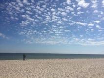La mer et la plage photo libre de droits