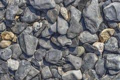 La mer lapide la texture Photographie stock