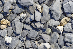 La mer lapide la texture Photo libre de droits
