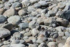 La mer lapide la texture de fond Image libre de droits