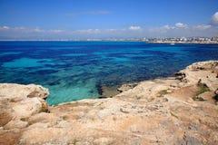 La mer Méditerranée Photo libre de droits