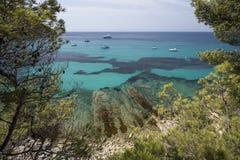 La mer Méditerranée Photos libres de droits