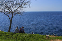 La mer Méditerranée. Photo stock