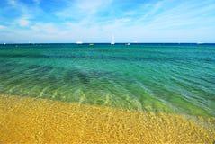La mer Méditerranée Images libres de droits