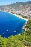 La mer Méditerranée - Alanya, Turquie Photo stock