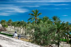 La mer Méditerranée de l'Espagne, Îles Baléares Photo stock
