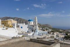 La mer Méditerranée de la Grèce Images libres de droits