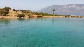 La mer Méditerranée de paysage photo stock