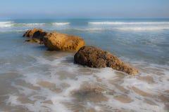 La mer Méditerranée Haifa Israel image stock