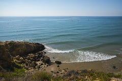 La mer Méditerranée, Sitges Images libres de droits