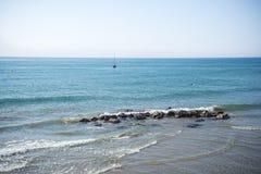 La mer Méditerranée, Sitges Photographie stock