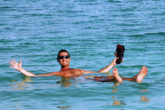 La mer morte - Israël Images stock