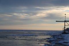 La mer n'est plus inquiétée photo libre de droits