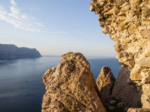 La Mer Noire Image libre de droits