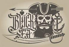 La Mer Noire Images libres de droits