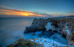 La Mer Noire Bulgarie Image stock