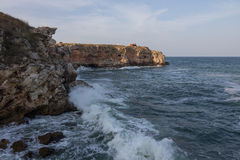 La Mer Noire lourde Images libres de droits