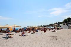 La Mer Noire, Odessa, Ukraine Photographie stock libre de droits