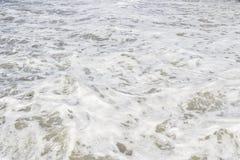 La Mer Noire Ondes de mer Sotchi Photo stock