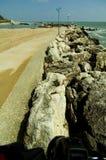 La Mer Noire roumaine photographie stock libre de droits