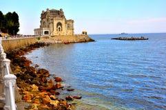 La Mer Noire, Roumanie Images libres de droits