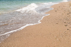 La Mer Noire Shoreline Image stock