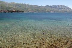La mer par beau temps photo libre de droits