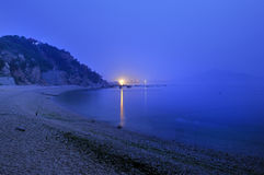 La mer pendant le matin Photos libres de droits