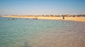 La Mer Rouge chez Hurghada images stock