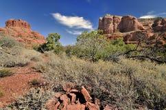 La Mer Rouge de l'Arizona photo libre de droits