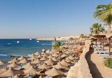 La Mer Rouge en Egypte Photos stock