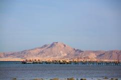 La Mer Rouge en Egypte image libre de droits