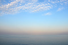 La mer - une pacification Image libre de droits