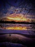 La meraviglia del fiume Mississippi fotografia stock libera da diritti