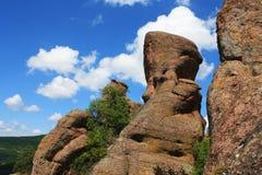 La meraviglia delle rocce di Belogradchik Fotografia Stock Libera da Diritti