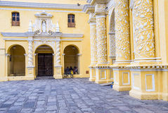 La Merced church Antigua Royalty Free Stock Photos