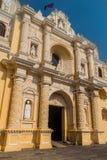 La Merced Church, Antigua Guatema. La royalty free stock photography
