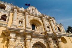La Merced Church, Antigua Guatema. La royalty free stock photo