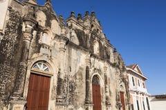 La Merced Church in Granada. Granada, Nicaragua stock photography