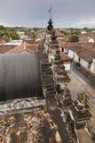 La Merced Church in Granada. Granada, Nicaragua royalty free stock image