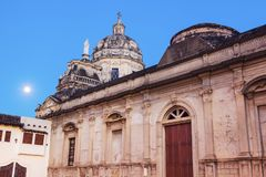 La Merced Church in Granada. Granada, Nicaragua royalty free stock photography