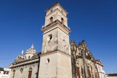 La Merced Church in Granada. Granada, Nicaragua royalty free stock images