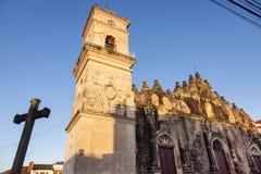 La Merced Church in Granada. Granada, Nicaragua stock photos